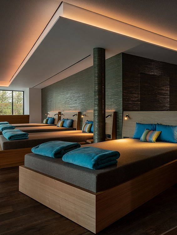 Ruhebereich Rottufer Betten