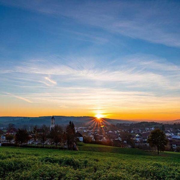 Bad-Birnbach-Sonnenuntergang