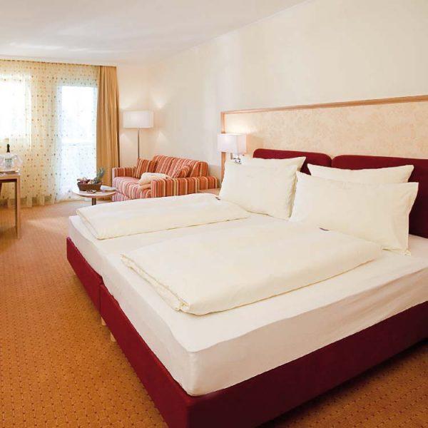 Komfortzimmer-Bett