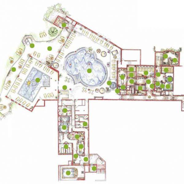 Plan-Zeichnung-Wellnesshotel-Sonnengut