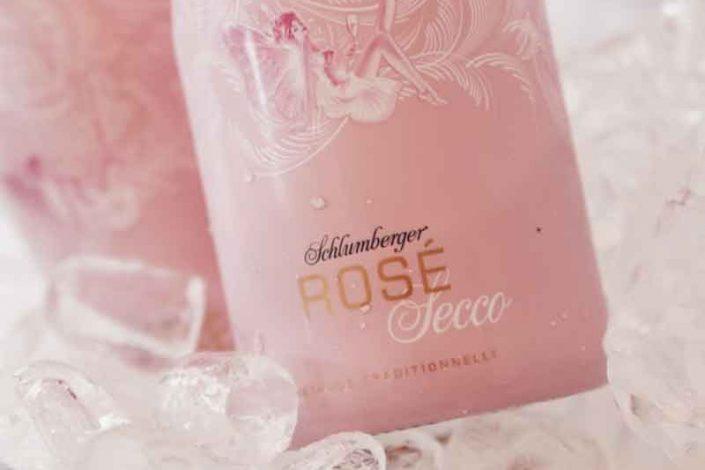 Sekt-Rose