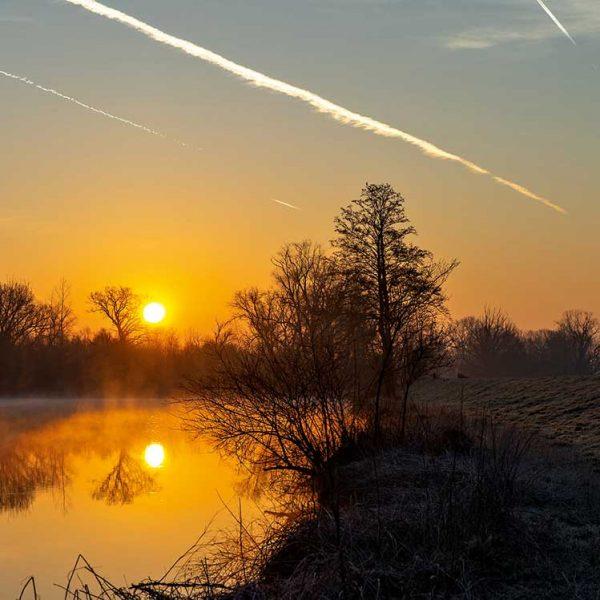 Sonnenuntergang-Bad-Birnbach