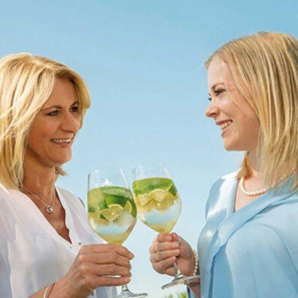 cocktails-Freundinnen