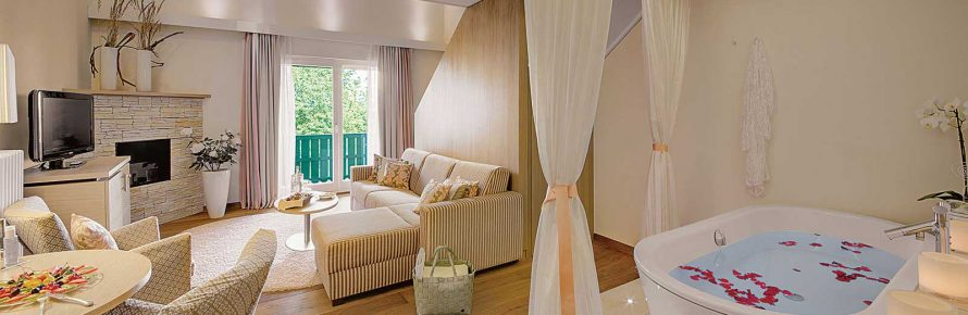 honigmond-Suite-Badewanne-im-Zimmer